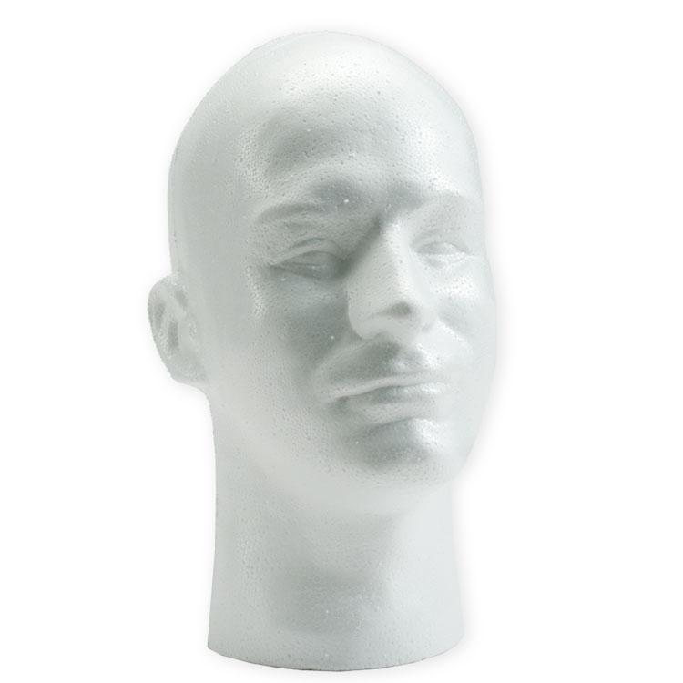 Mannequin Hoofd voor Haarwerk of Pruik Man