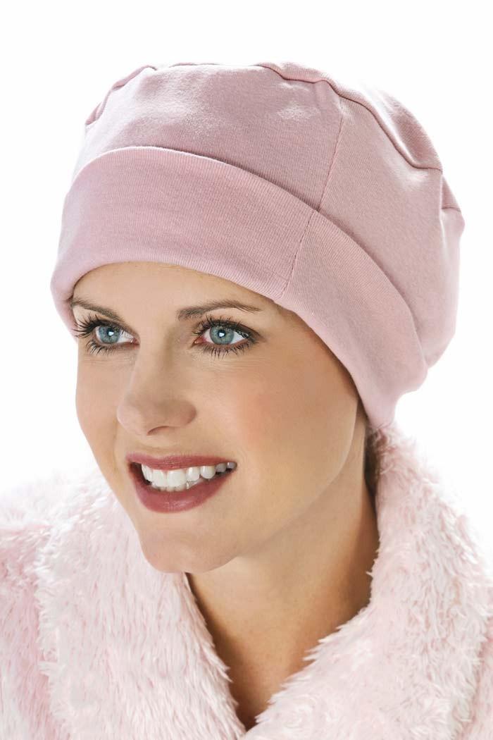 sleeping-pink-sleep-cap-night-hat